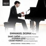 Saint-Saens / Goss / Franck - Works for Piano and Orchestra | Signum Classics SIGCD349