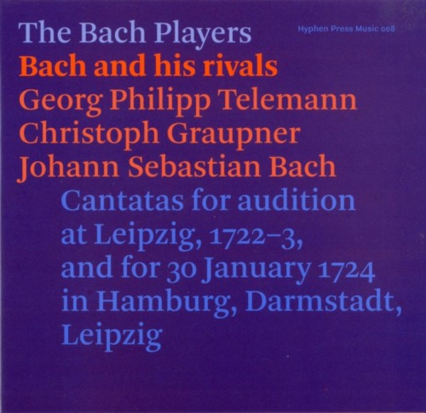 Bach and his Rivals | Hyphen Press Music HPM008