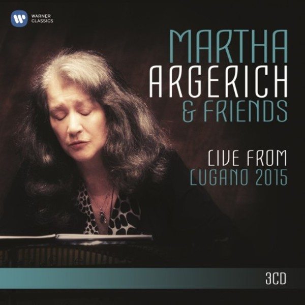 Martha Argerich & Friends: Live from Lugano 2015 | Warner 2564628549