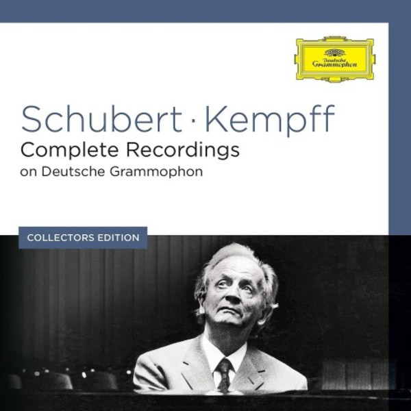 Wilhelm Kempff: Complete Schubert Recordings on Deutsche Grammophon