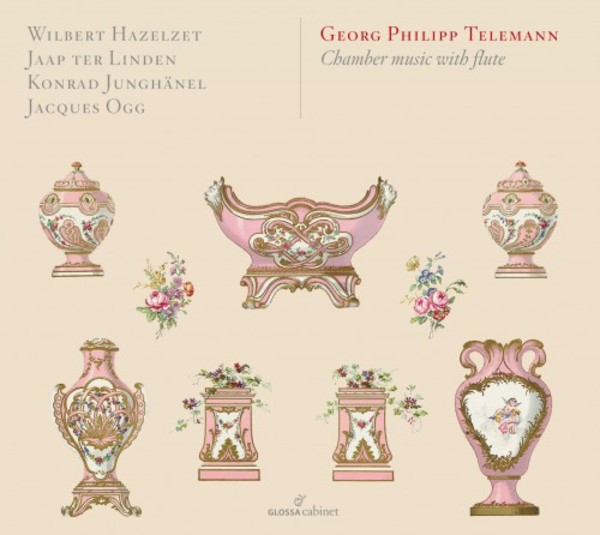 Telemann - Chamber Music with Flute | Glossa - Cabinet GCDC80803