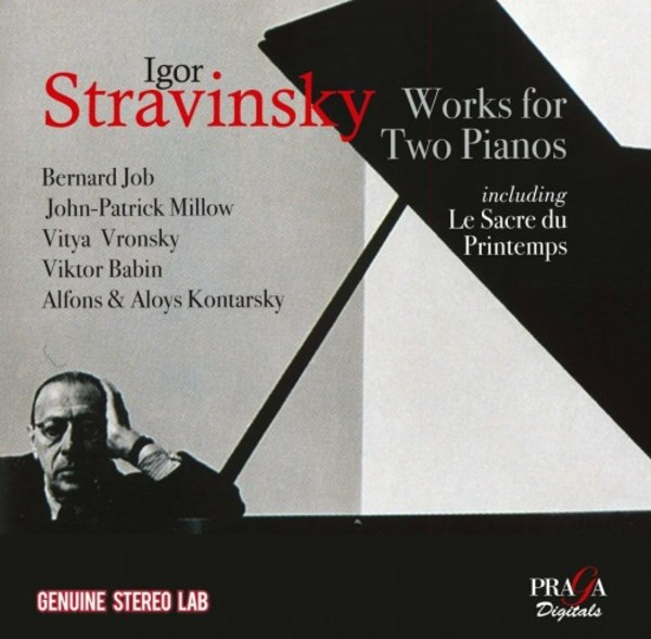 Stravinsky - Works for Two Pianos