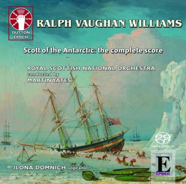 Vaughan Williams - Scott of the Antarctic (complete) | Dutton - Epoch CDLX7340