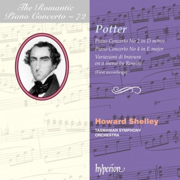 The Romantic Piano Concerto Vol.72: Cipriani Potter