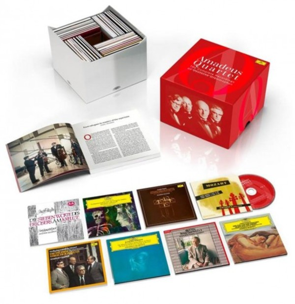 Amadeus Quartet: The Complete DG, Decca & Westminster Recordings | Deutsche Grammophon 4797589