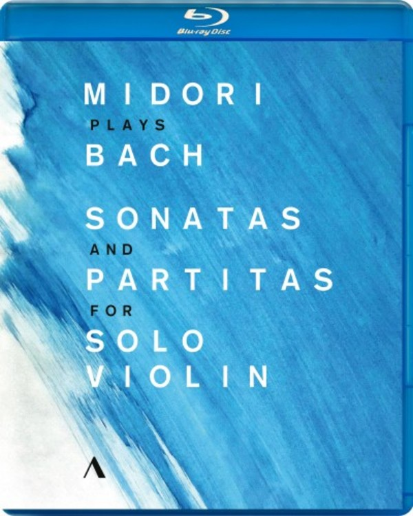 Midori plays Bach Sonatas and Partitas for Solo Violin (Blu-ray)