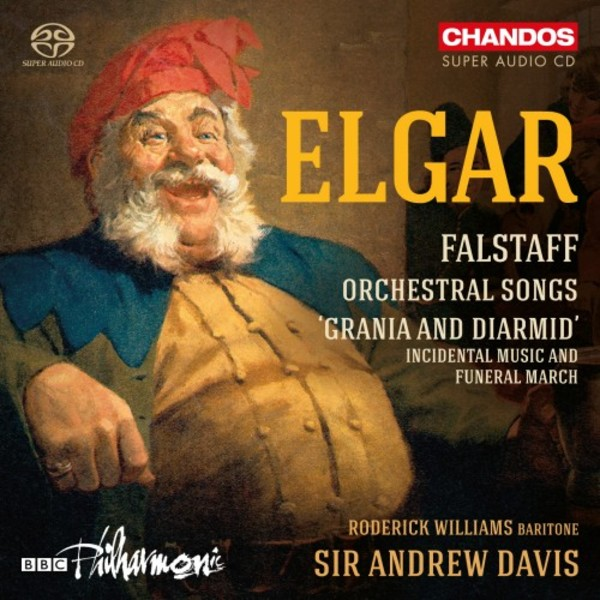 Elgar - Falstaff, Orchestral Songs, etc.