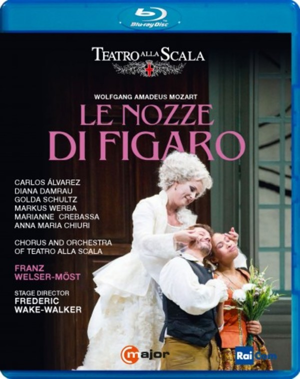 Mozart  - Le nozze di Figaro (Blu-ray) | C Major Entertainment 743204