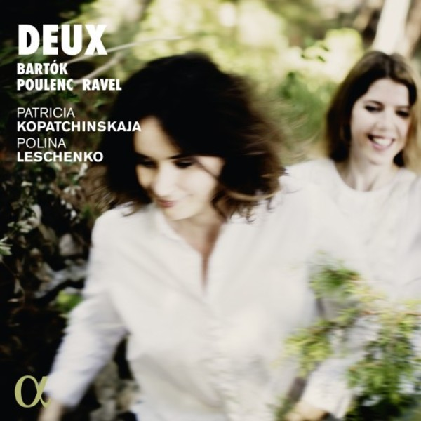 Deux: Music for Violin & Piano by Bartok, Poulenc & Ravel | Alpha ALPHA387