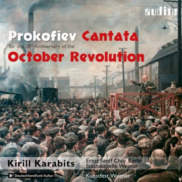 Prokofiev - Cantata for the 20th Anniversary of the October Revolution | Audite AUDITE97754