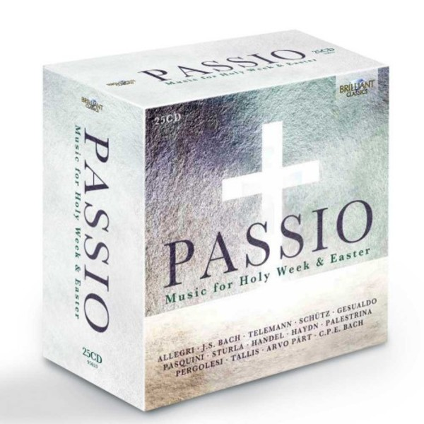 Passio: Music for Holy Week & Easter | Brilliant Classics 95653BR