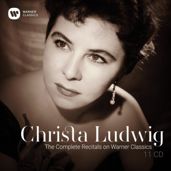 Christa Ludwig: The Complete Recitals on Warner Classics | Warner 9029569020