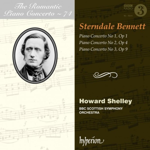 The Romantic Piano Concerto Vol.74: Sterndale Bennett | Hyperion CDA68178
