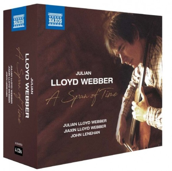 Julian Lloyd Webber: A Span of Time | Naxos 8504053