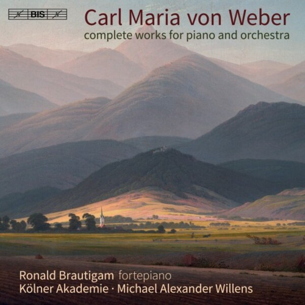 Weber - Complete Works for Piano & Orchestra | BIS BIS2384